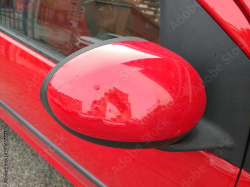 Fototapeta lusterko samochodowe obudowa część auto obraz