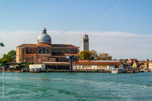 Fotomural View on the Basilica of San Pietro di Castello in Venice, Veneto - Italy