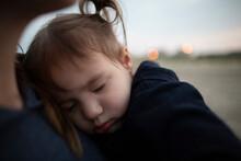 Adorable Sleeping Toddler Girl...