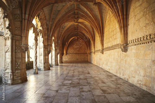 Archway of an old monastery Canvas