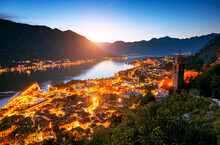 Majestic View Of Of Kotor Bay ...