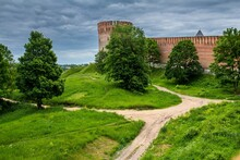 The Wall Of Smolensk Kremlin W...