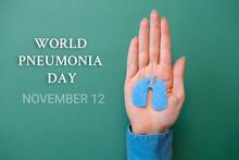 World Pneumonia Day, 12th Nove...