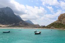 Paysage Paradisiaque En Crète