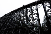 An Old Railroad Trestle