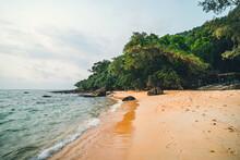 Beautiful Beach. View Of Nice ...