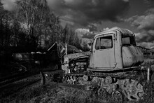 Abandoned Agricultural Machine...