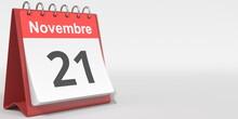 November 21 Date Written In Fr...