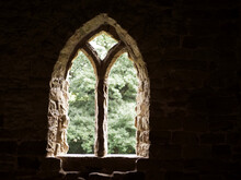Archway Window Of The Ancient ...