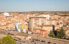 A View Over Tarrega City, Province Of Lleida, Catalonia, Spain