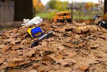 Forgotten Children's Toys On A...
