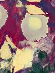 Fototapeta Abstrakcja Multicolor abstract acrylic oil painted background