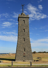 Historic Working Timeball Tower(built 1852) At Point Gellibrand In Williamstown, Victoria, Australia.