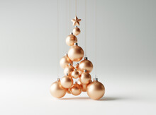 Christmas Tree Made Of Copper ...