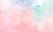 Colorful Watercolor Design Background Texture