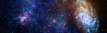 Fiery Explosion In Space. Abst...