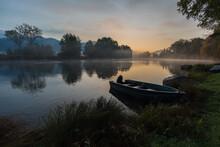 Calm Scenic Picture Of Small F...