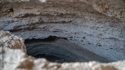 Fotomural Musfur Sinkhole is the largest known sinkhole cave in Qatar