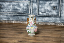 Chinese Colorful Vase On The F...