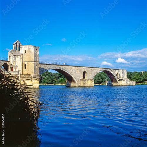 Photo Bridge in the Avignon, France