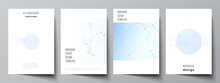 Vector Layout Of A4 Format Cov...