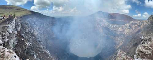 Obraz na płótnie glacier in the mountains