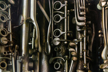 Closeup Of Musical Woodwind In...