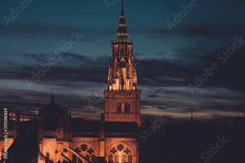 a catedral de Santa María, llamada también Catedral Primada de España Canvas