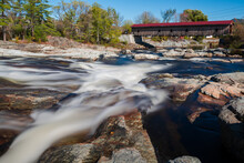 Jay Covered Bridge Over Ausable River