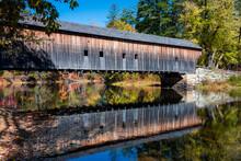 Hemlock Covered Bridge Reflect...
