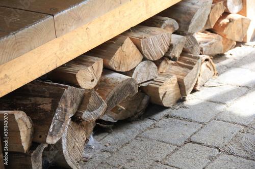 Tablou Canvas 使う前の薪