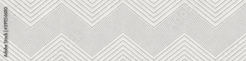 Plaster wall seamless texture with chevron pattern, grunge background, long text Tableau sur Toile
