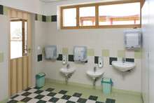Bathroom In Primary School