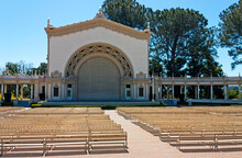 Organ Pavilion In Balboa Park, San Diego, California,United States Of America.