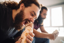 A Bearded Man Is Gonna Bite Hi...