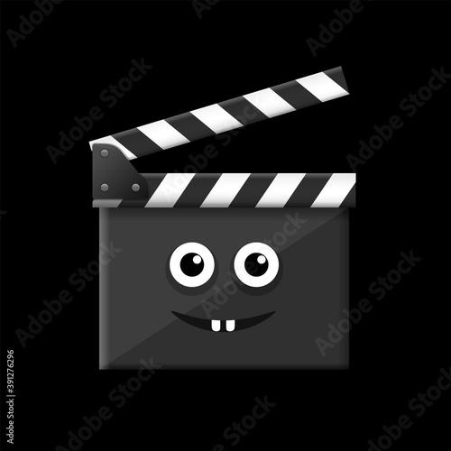Movie time clapper board Tapéta, Fotótapéta