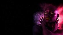 Black Woman Skin. Beauty Fashi...