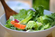 Salad With Lettuce And Radish ...