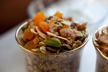 Olive Oil Granola With Dried A...