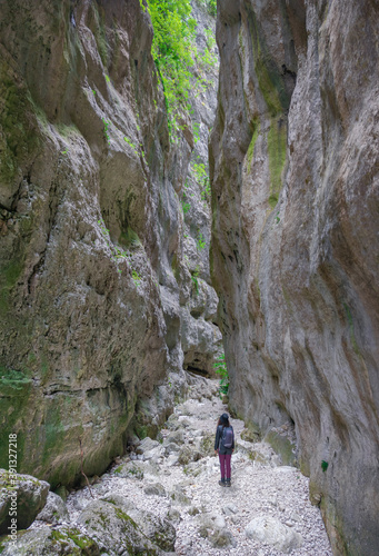 Photo Gole di Celano (Italy) - A naturalistic wild attraction for hikers in the Natura