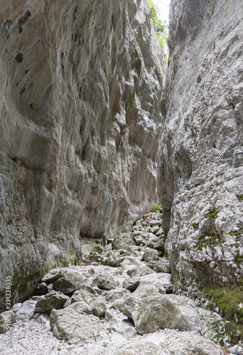 Gole di Celano (Italy) - A naturalistic wild attraction for hikers in the Natura Wallpaper Mural