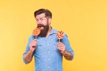 Lollipop Made For Me. Bearded ...
