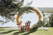 A Beautiful Wedding Arch, Deco...