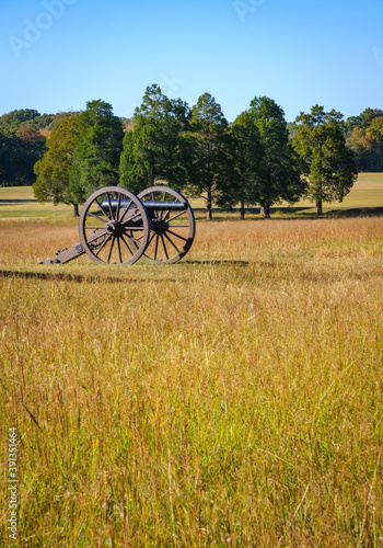 Canvas Print Chickamauga and Chattanooga National Military Park