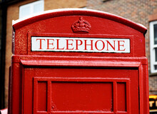 Traditional Red Telephone Boot...