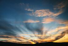 Amazing Sunset In Italy