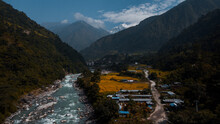 Amazing Nepal. Valley In The M...