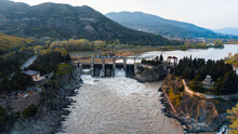 Hydro Power Electro Station In Georgia