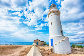 Beautiful landscape with lighthouse