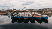 Ship's Berthing In The Port